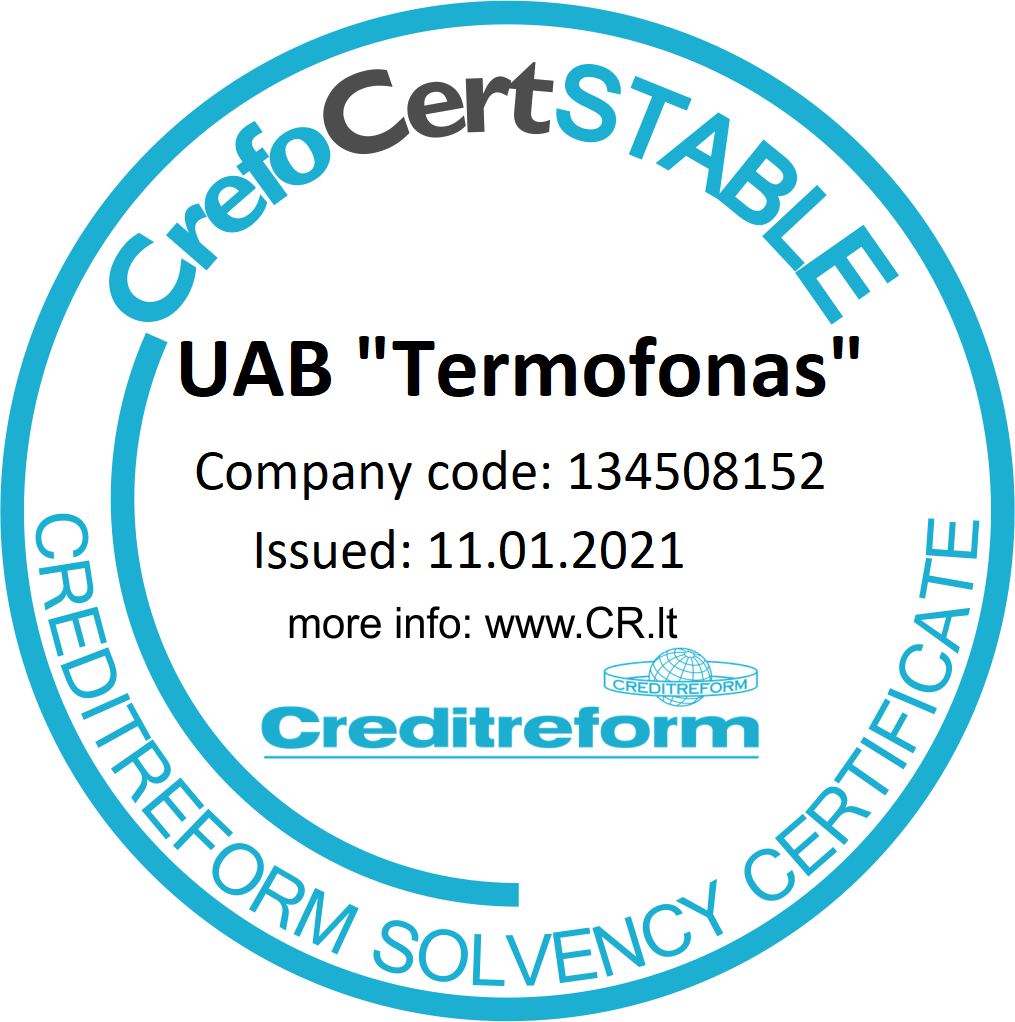 CrefoCertSTABLE Certification